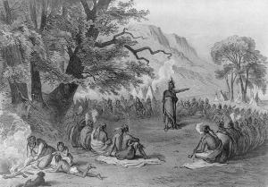 Indian_Chief_in_Council_Informing_His_Tribe_of_the_Arrival_of_Strangers_in_Ships