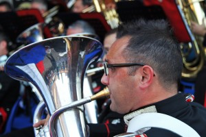 Fanfara Carabinieri Roma_Porta di Roma 04.10.14_Alamari Musicali (90)