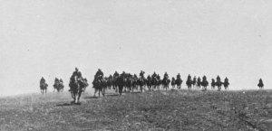 Cavalleria italiana nella steppa russa